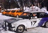 Fiesta MK1 Group 2 Rallye Car In Snow
